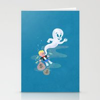 Where Do Friendly Ghosts… Stationery Cards