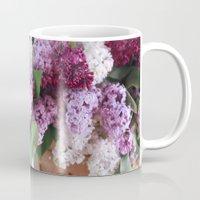 Bouquet of Beautiful - Lilacs  Mug