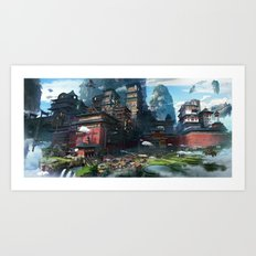 Massive City Art Print