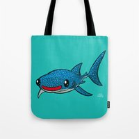 Whale Shark Tote Bag