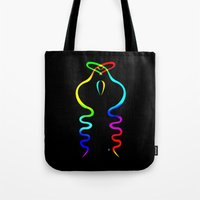 Two Gay Dancing Cobras  Tote Bag