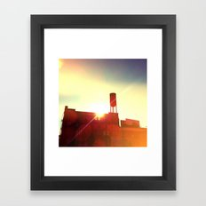 town storage Framed Art Print