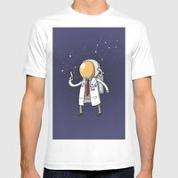 Dr. Spaceman Mens Fitted Tee White SMALL