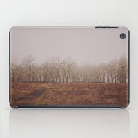 Foggy Trail to the Trees iPad Case