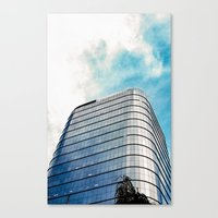 Big Building Canvas Print