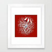 The Red Menace Framed Art Print