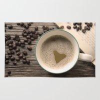 I Heart Coffee Rug