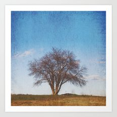 Simple Tree Art Print
