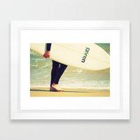 Surfer Rosa Framed Art Print