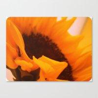 SunflowerPower ~ Retro S… Canvas Print