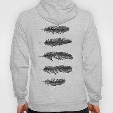 Lucky Five Feathers Hoody