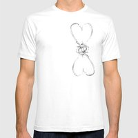 Love Is Infinite Mens Fitted Tee White SMALL