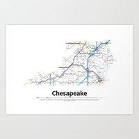 Highways Of The USA – … Art Print
