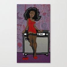 Dirty Diana Canvas Print
