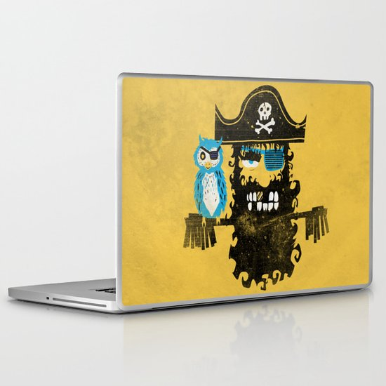 Trendy Pirate  Laptop & iPad Skin
