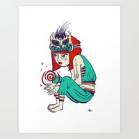 Voodoo Magic Art Print