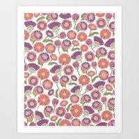 Our Florals Art Print