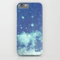 iPhone & iPod Case featuring Blue and purple bubble clouds II by istillshootfilm
