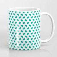 rhombus bomb in emerald Mug