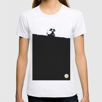 Hello there Womens Fitted Tee Ash Grey SMALL