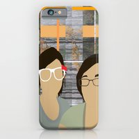 iPhone & iPod Case featuring Bleeding Hearts Club by sens