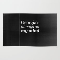 Georgia's always on my mind Rug