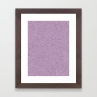 Abstract #002 Cells (Lav… Framed Art Print