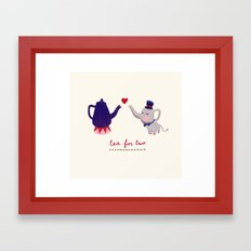 Tea for two Framed Art Print