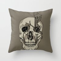 From Death We Grow... Throw Pillow