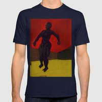 2005 03 22 Mens Fitted Tee Navy SMALL