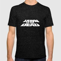 Jawn of the Dead Mens Fitted Tee Tri-Black SMALL