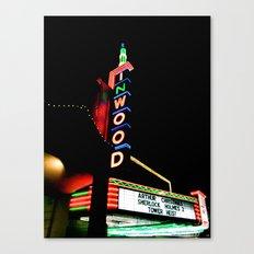 Inwood Theatre Canvas Print