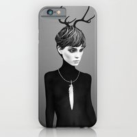 iPhone & iPod Case featuring The Cold  by Ruben Ireland
