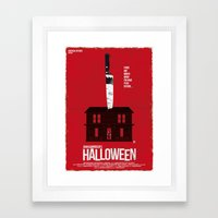 Halloween (Red Collectio… Framed Art Print