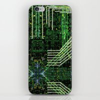 Circuit Board Very Green… iPhone & iPod Skin