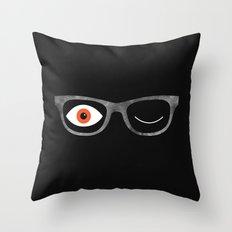 Space Specs Throw Pillow