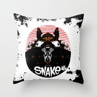 RatFinK Throw Pillow