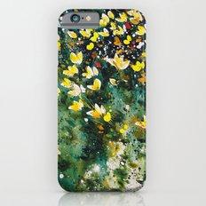 field of wildflowers iPhone 6s Slim Case