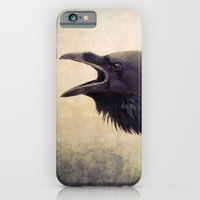 iPhone & iPod Case featuring The Raven by Pauline Fowler ( Polly470 )