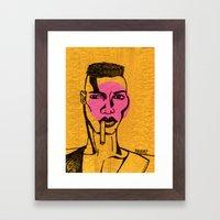 Grace Jones. Framed Art Print