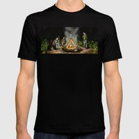 The Nerdist Mens Fitted Tee Black SMALL