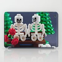Skeletons are shy too iPad Case