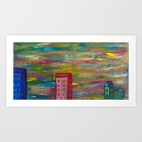 These Days Are Gone Art Print