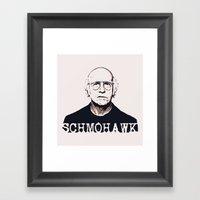 Schmohawk  |  Larry Davi… Framed Art Print