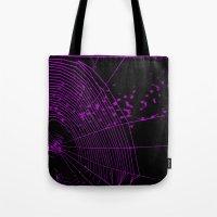 Emo Spider Tote Bag
