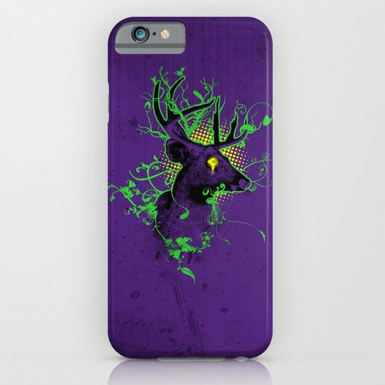 Trippy Ghost Deer iPhone & iPod Case