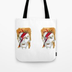 Bowie birthday card Tote Bag