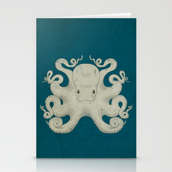 Octopus Stationery Card