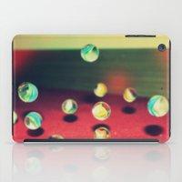 Retro Marbles iPad Case