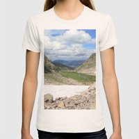 August Snow Womens Fitted Tee Natural SMALL